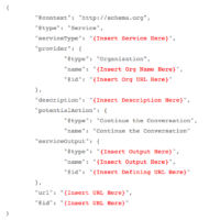 Microdata Markup for Services